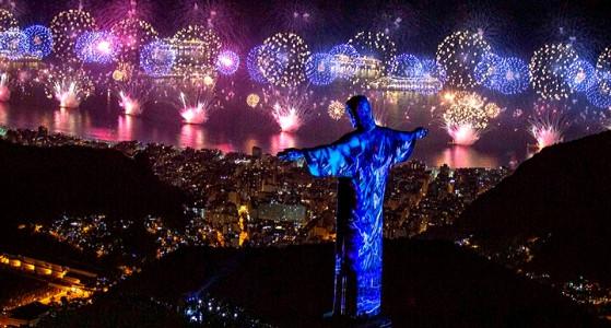 الاحتفال برأس السنة في ريو دي جانيرو